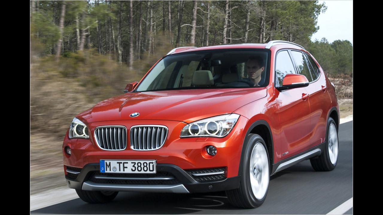 BMW X1 xDrive 20d Automatic: + 32,2 Prozent