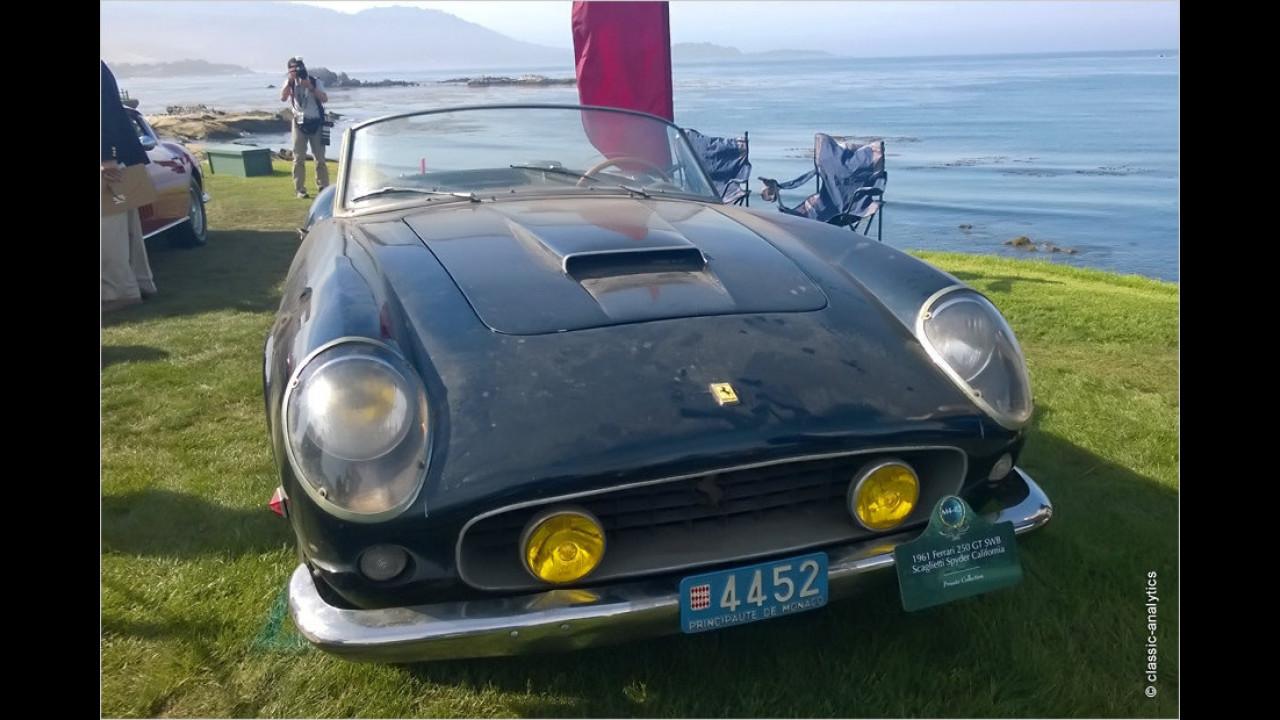 Platz 1: Ferrari 250 GT California Spider (SWB), Baujahr 1961