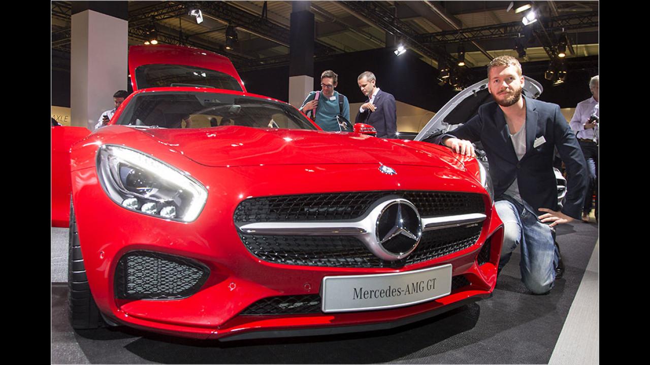 Der neue Mercedes-AMG GT im Erstcheck