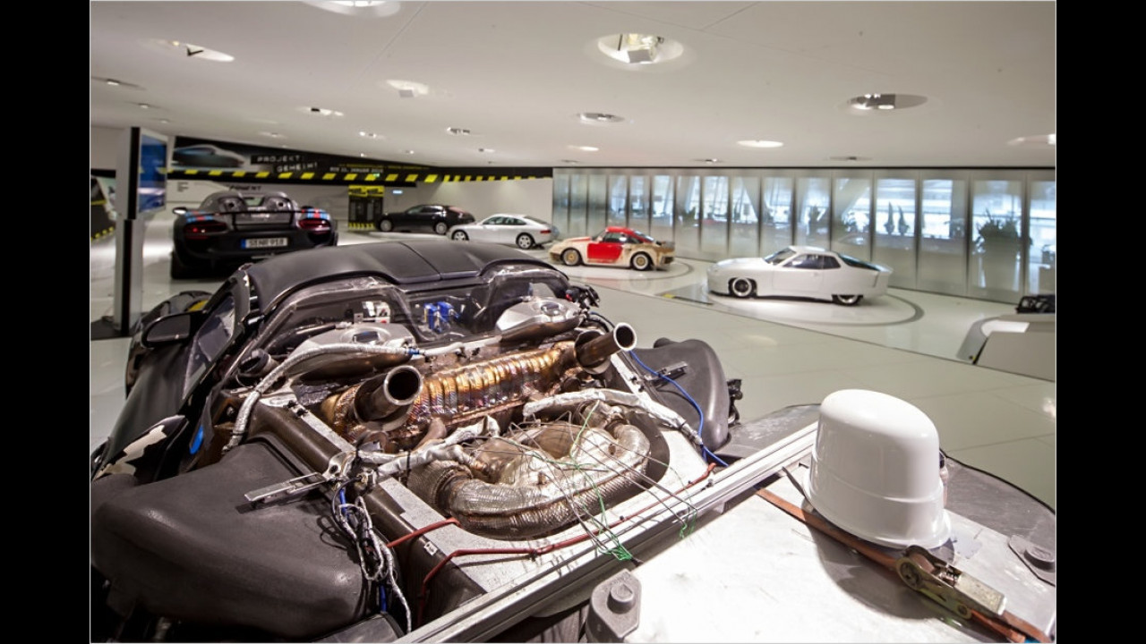 Porsche 918 Spyder Prototyp ,Rolling Chassis