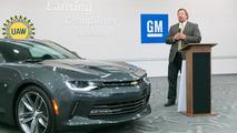 2016 Chevrolet Camaro production annoucement