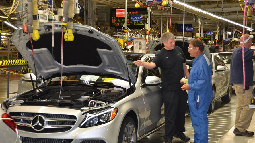 2015 Mercedes C-Class goes into production in the U.S.