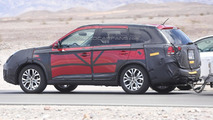 Mitsubishi Outlander facelift spy photo