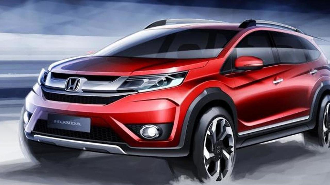 Honda BR-V official design sketch