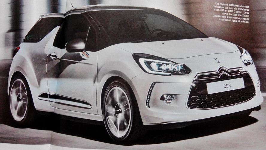 Citroen DS3 facelift leaked, debuts later today