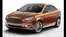 Ford estuda vender novo Escort também na Europa