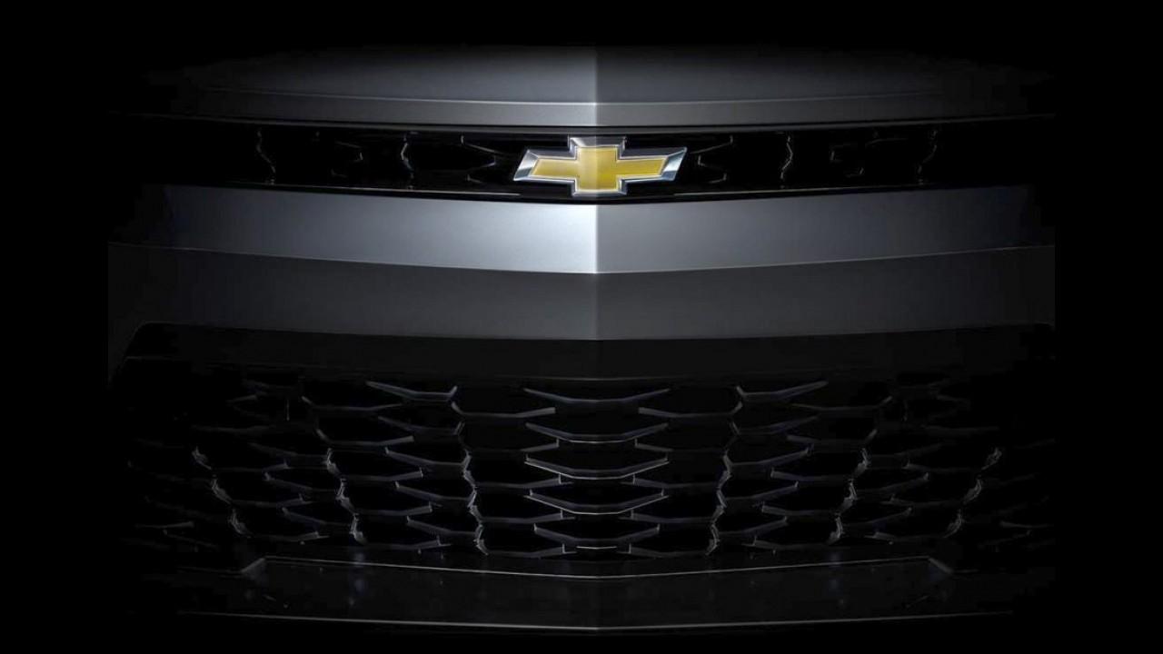 Chevrolet divulga teasers reveladores do novo Camaro 2016