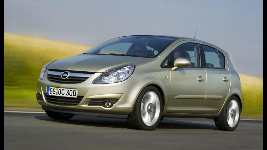 Opel Corsa: ridotti i prezzi