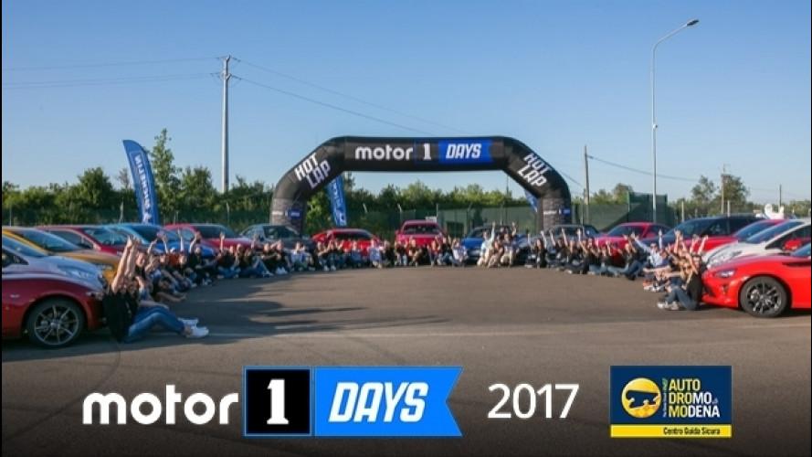 Motor1Days, la nostra festa siete Voi