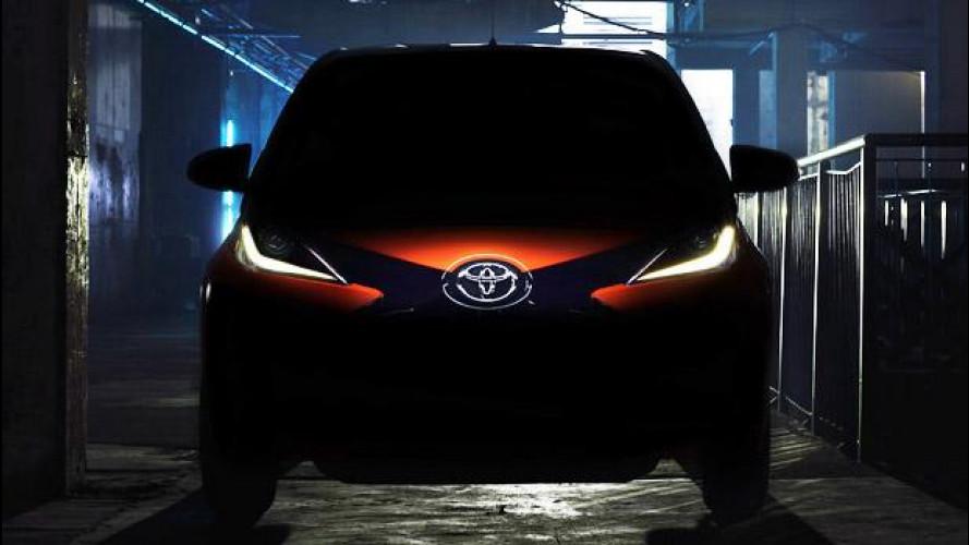 Nuova Toyota Aygo, le prime immagini [VIDEO]