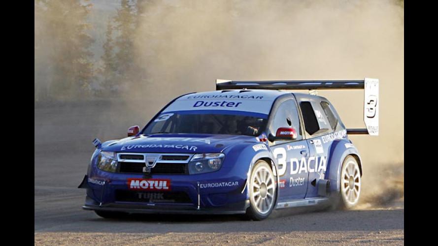 Platz drei für Dacia Duster am Pikes Peak