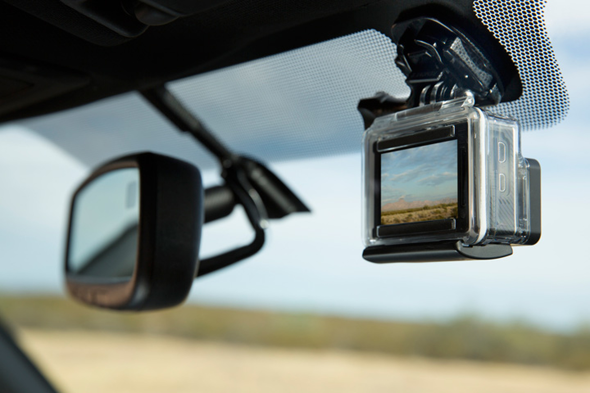 Did You Know Every 2016 Toyota Tacoma Gets a GoPro Mount?