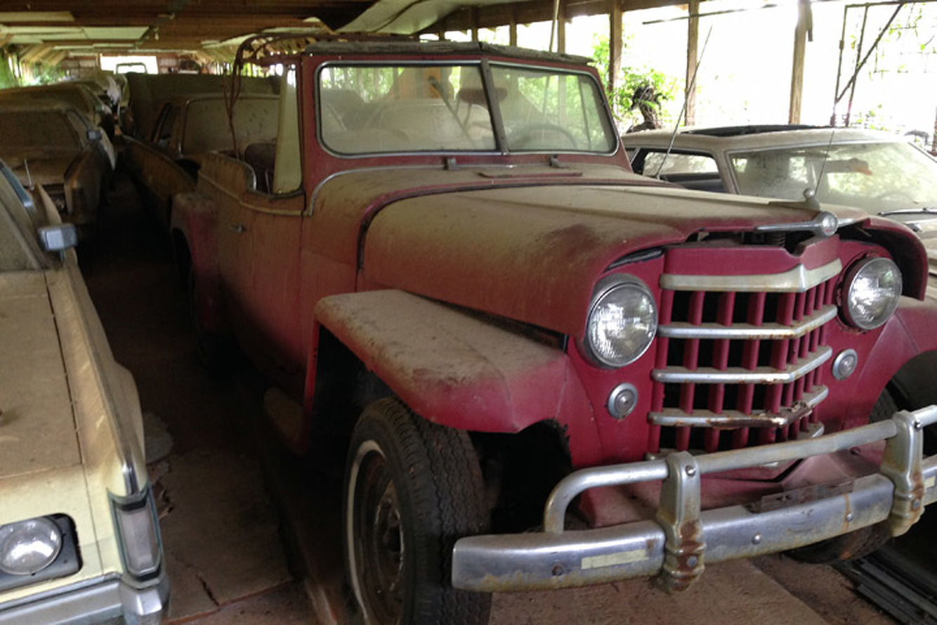 A Barn Find Uncovers Hidden Gems in North Carolina