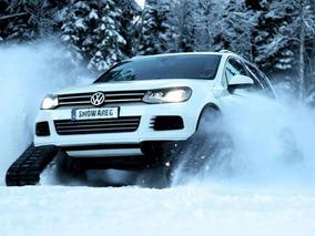 Volkswagen Snowareg: Sweden's Wild New Snow Machine