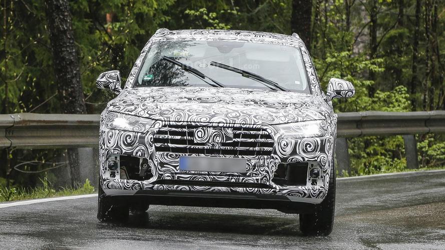 2018 Audi Q5 spy photos