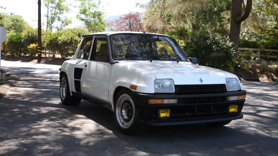 une unique renault 5 turbo 2 vendre aux tats unis. Black Bedroom Furniture Sets. Home Design Ideas