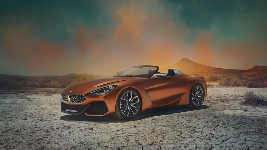 BMW Z4 Concept Debuts, Suggests Sublime Shape For Future Roadster