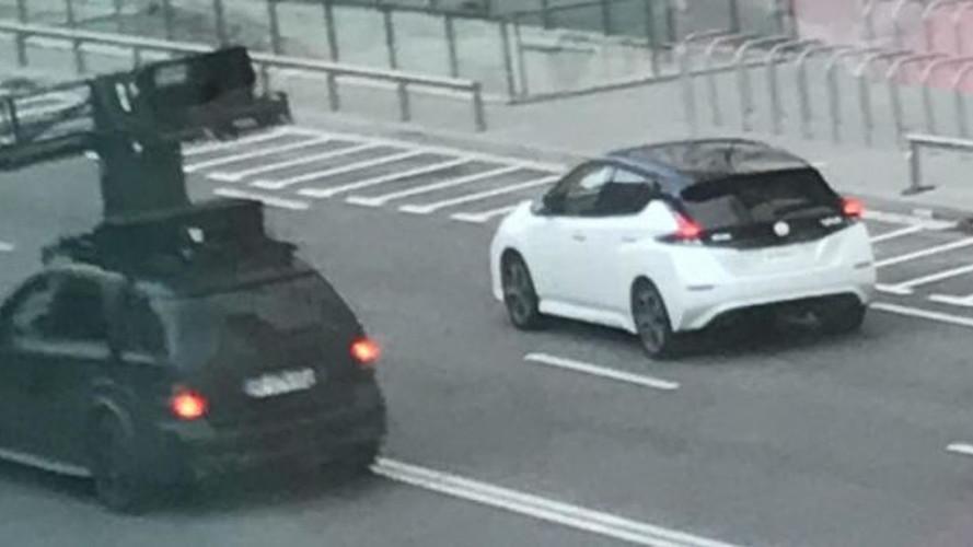 Nissan LEAF 2018: cazado en España sin camuflaje