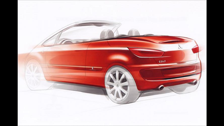 Mitsubishi: Studie vom Colt Coupé-Cabriolet steht in Genf