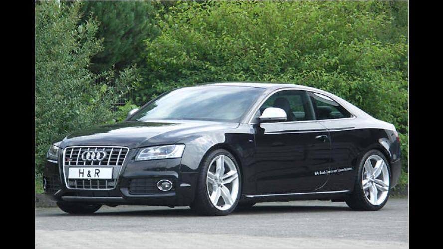 H&R: Sportliche Fahrwerkskomponenten für Audi A5 und S5