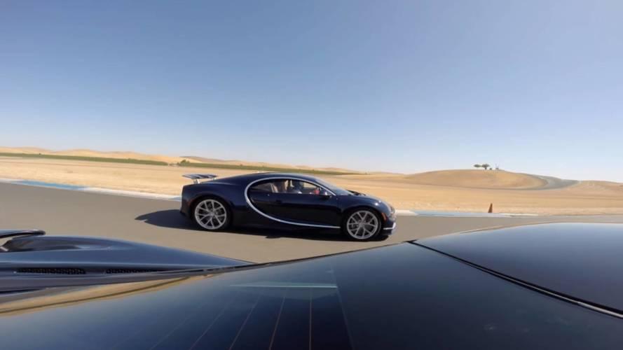 VIDÉO - Quand la McLaren 720S croise une Bugatti Chiron