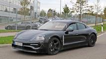 2020 Porsche Mission E spy photo