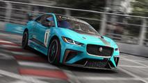 Jaguar i-Pace Trophy Race Car