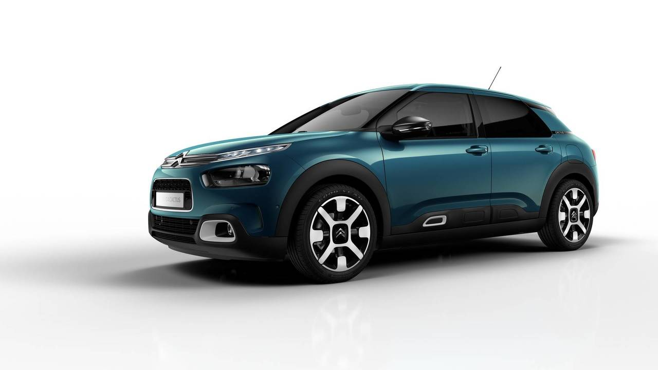 citroen c4 cactus 2018 restyling fotos. Black Bedroom Furniture Sets. Home Design Ideas