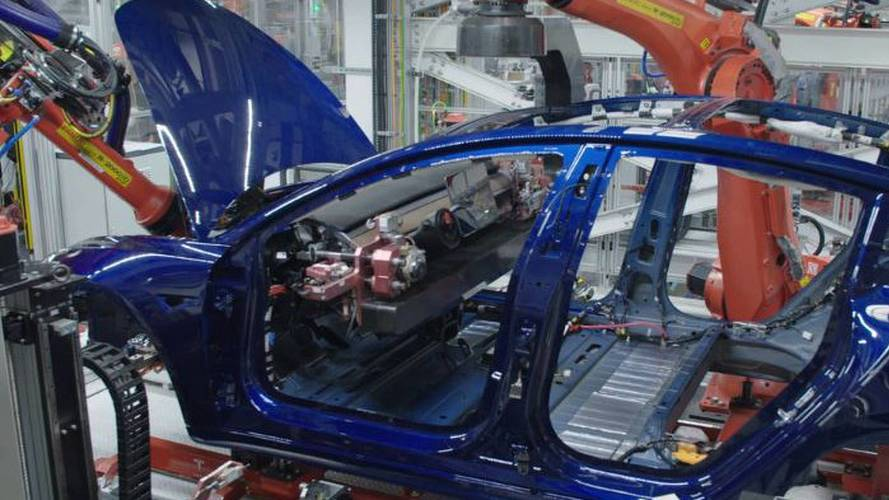 Watch Robots Install Tesla Model 3 Seats, Dash, More