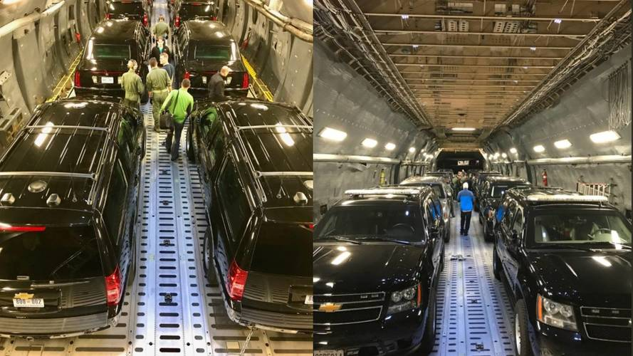 This Is How Secret Service Transports Trump's