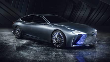 Lexus LS+ konsepti geleceğin teknoloji ağırlıklı amiral gemisi
