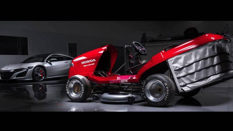 Honda e il nuovo tagliaerba più veloce del mondo