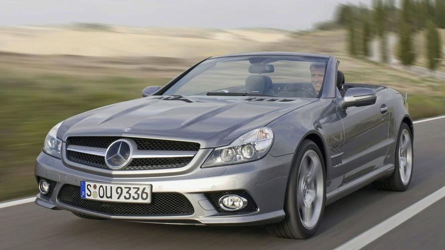 Official: Mercedes SL Facelift Revealed