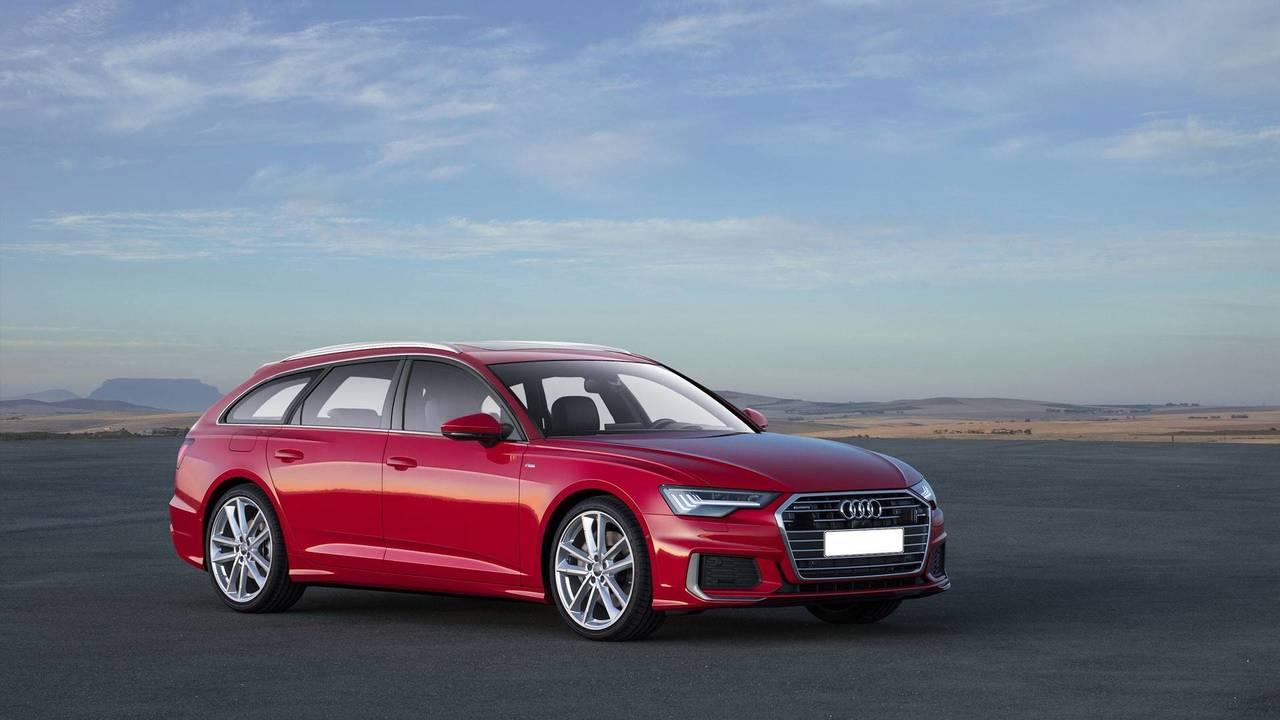 2019 Audi A6 Avant rendering