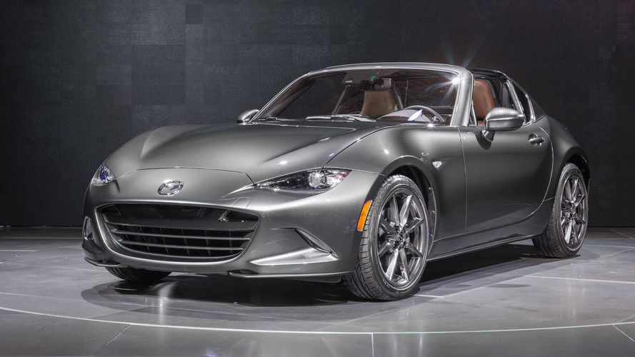 2017 Mazda MX-5 Miata RF to get limited-run Launch Edition