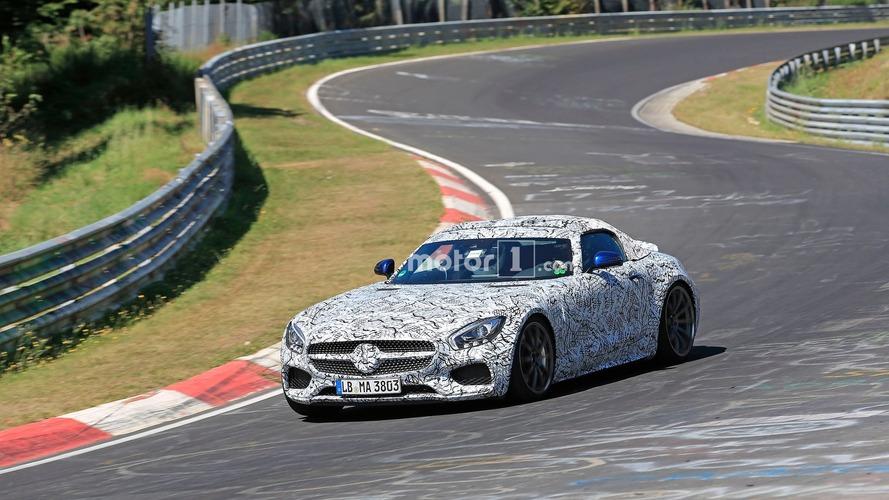 Mercedes-AMG GT Roadster Spy Pics