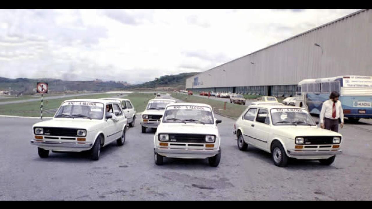 Foi um 147: Fiat celebra os 30 anos do primeiro veículo 100% a álcool da América Latina