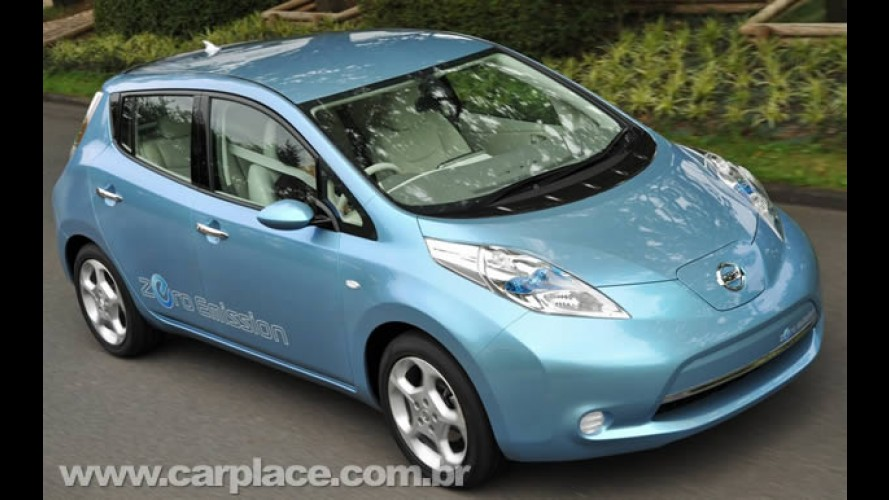Nissan retruca GM e reafirma que novo elétrico Leaf roda o equivalente a 156 km/litro!!