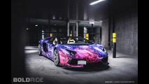 Galaxy Lamborghini Aventador Roadster