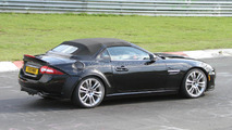 2013 Jaguar XE mule spied on the Nürburgring