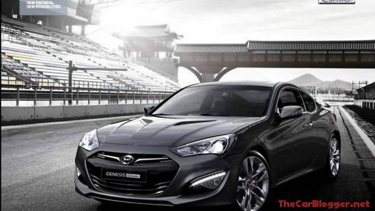2012 Hyundai Genesis Coupe leaked photo - 4.11.2011