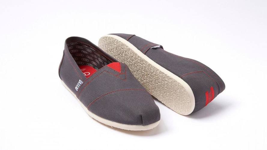 Audi & TOMS unveil their limited edition Alpargata shoes [video]