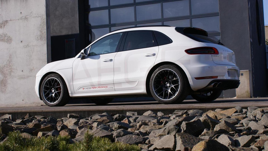 Porsche Macan S Diesel tuned to 310 HP by Kaege [video]