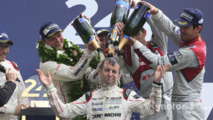 LMP1 podium winner Romain Dumas