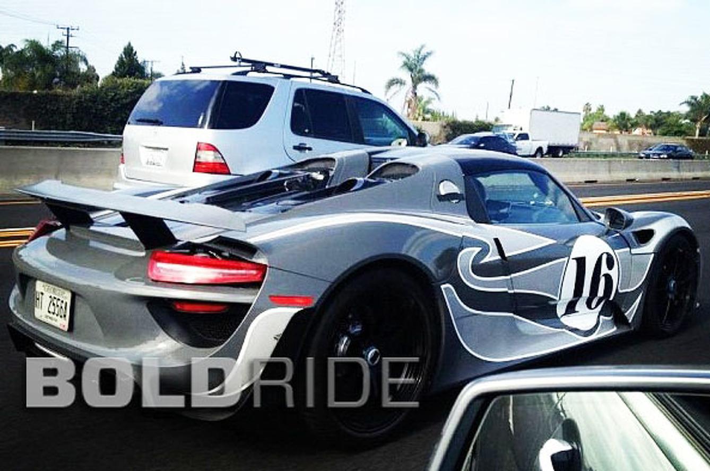Porsche 918 Spyder Caught Testing Stateside