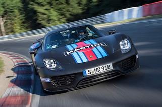 Porsche 918 Spyder: Fastest Production Car Around Nurburgring [w/video]