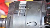 1200 holes disc brake of the Ferrari SF16-H