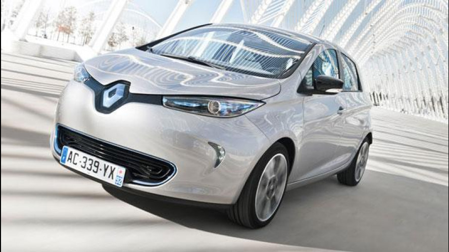 Renault ZOE, l'auto elettrica verso la normalità