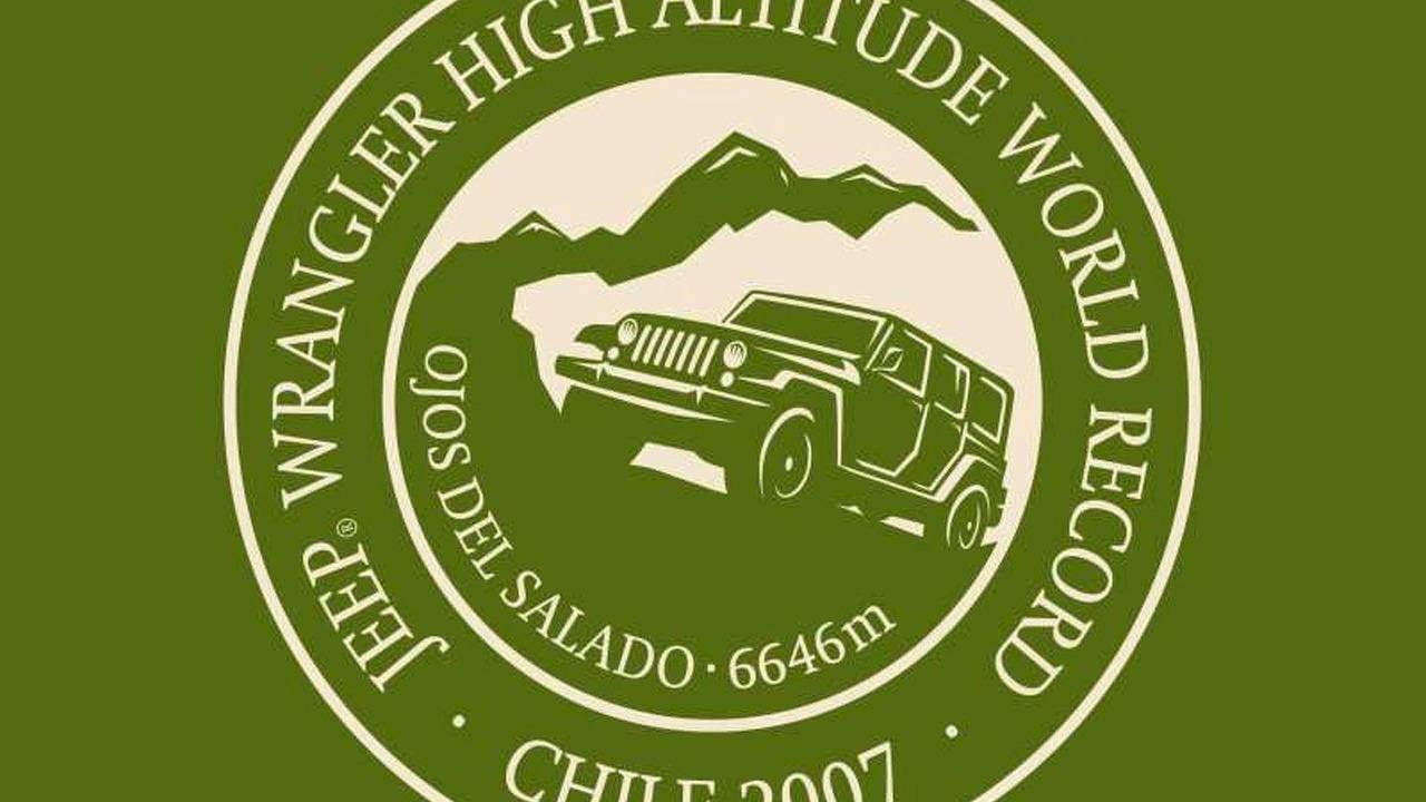 Jeep Wrangler Unlimited Sets Altitude Record Logo
