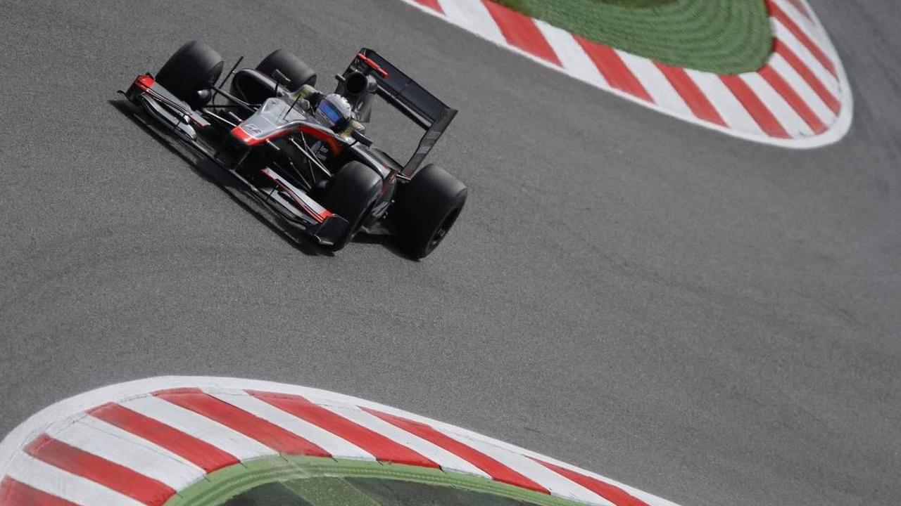 Christian Klien (AUT), Test Driver, Hispania Racing F1 Team HRT, Spanish Grand Prix, 07.05.2010 Barcelona, Spain